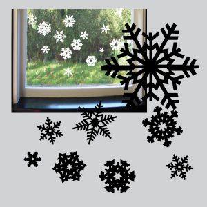 Raamstickers Sneeuwvlokken